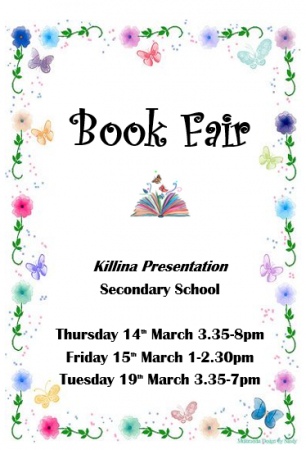 Book Fair for Wellbeing Week