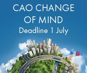 CAO change of mind deadline 1st July