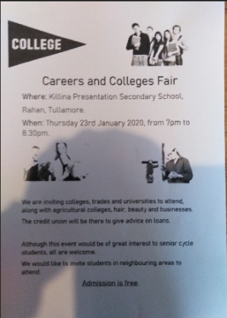 Parents' Association: Careers and Colleges Fair