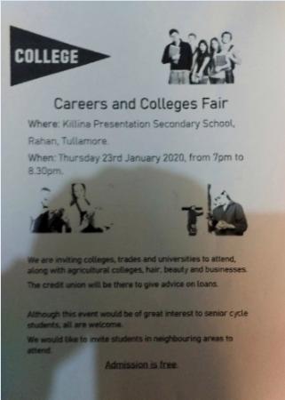 Reminder:  Careers Fair