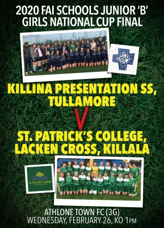 Another All Ireland Final for Killina!!