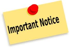 Important message re COVID 19 closure