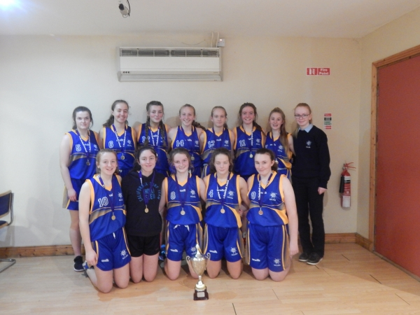 U16 Basketball Midlands League Winners