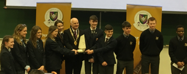 2nd place finish in All-Ireland for Public Speaking Team!!