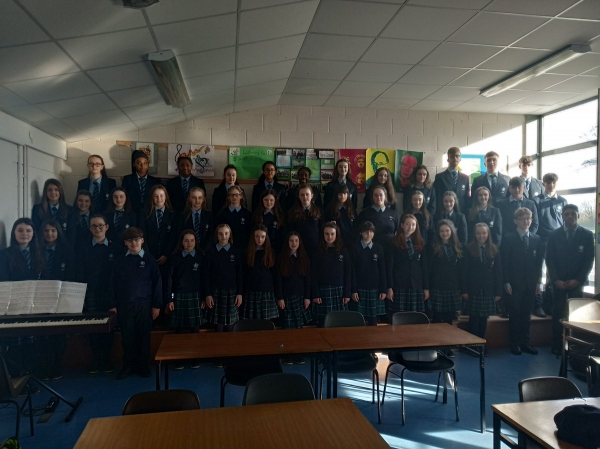 Best of luck to our Mixed Voice Choir!!