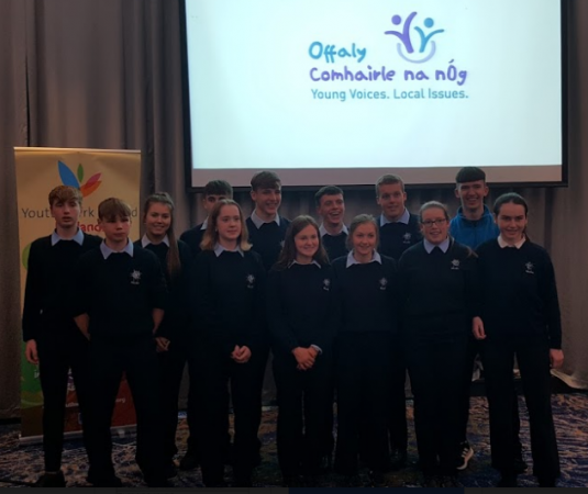 Student Council members attend Comhairle na nÓg AGM