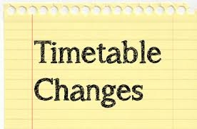 Timetable Review for Academic Year 2016-17