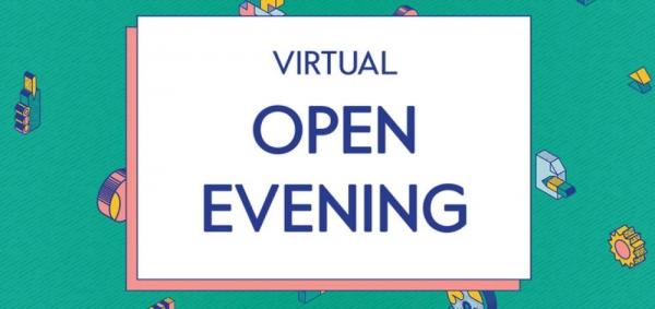 Virtual Open Night 2021 Tuesday 19th October