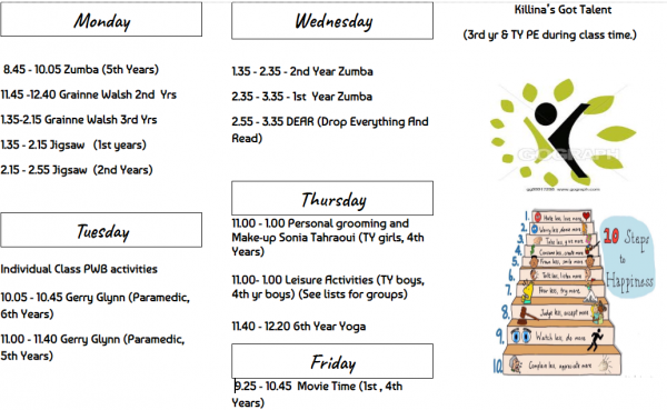 Wellbeing Week 2020 kicks off!!