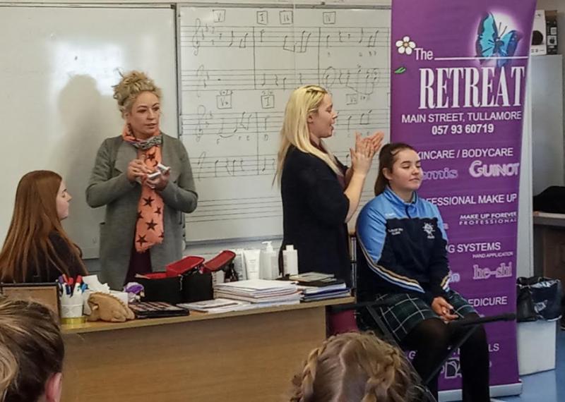 Brenda And Bairbre Jennings Presentation For Senior Girls